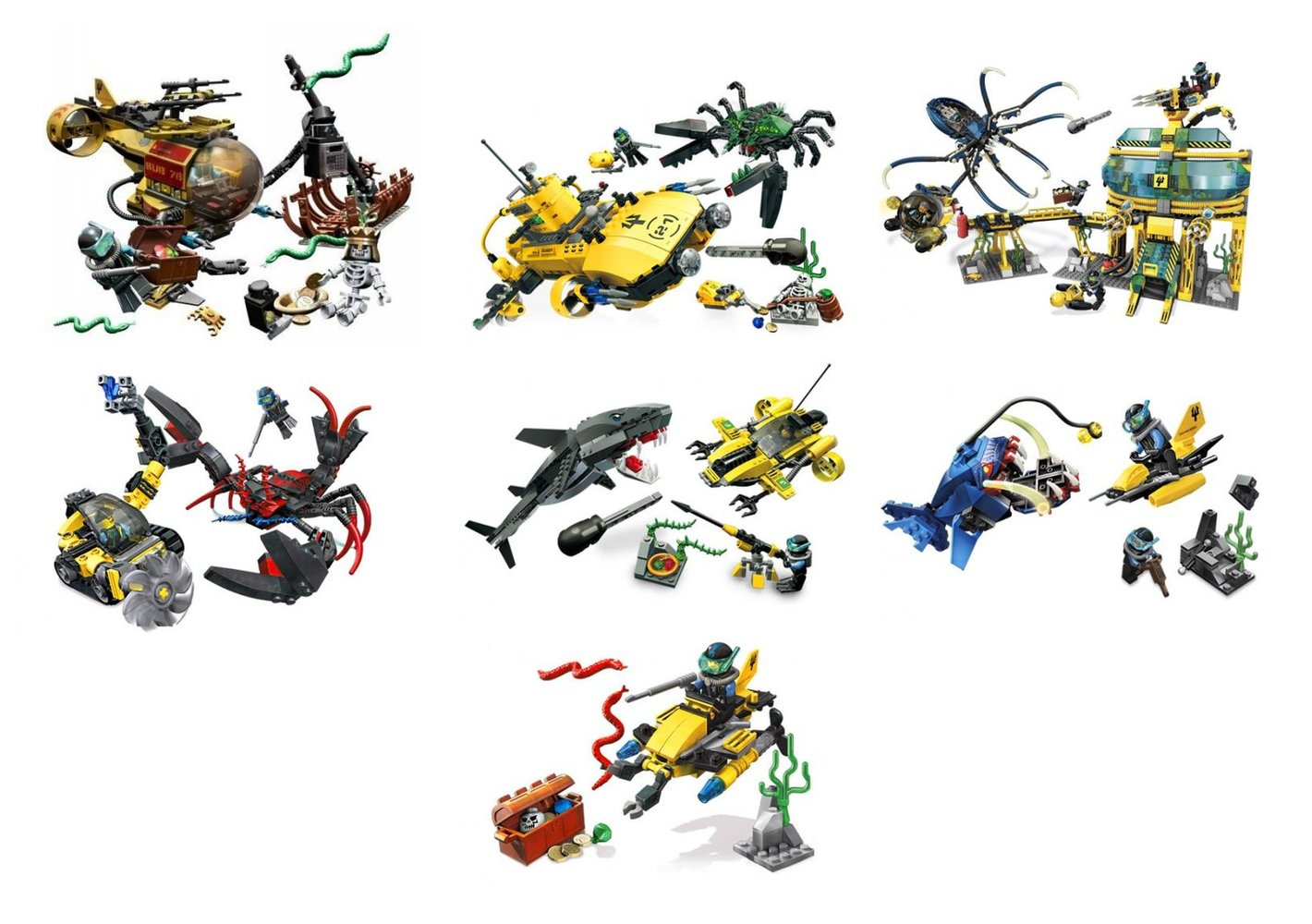 Ultimate Aqua Raiders Collection