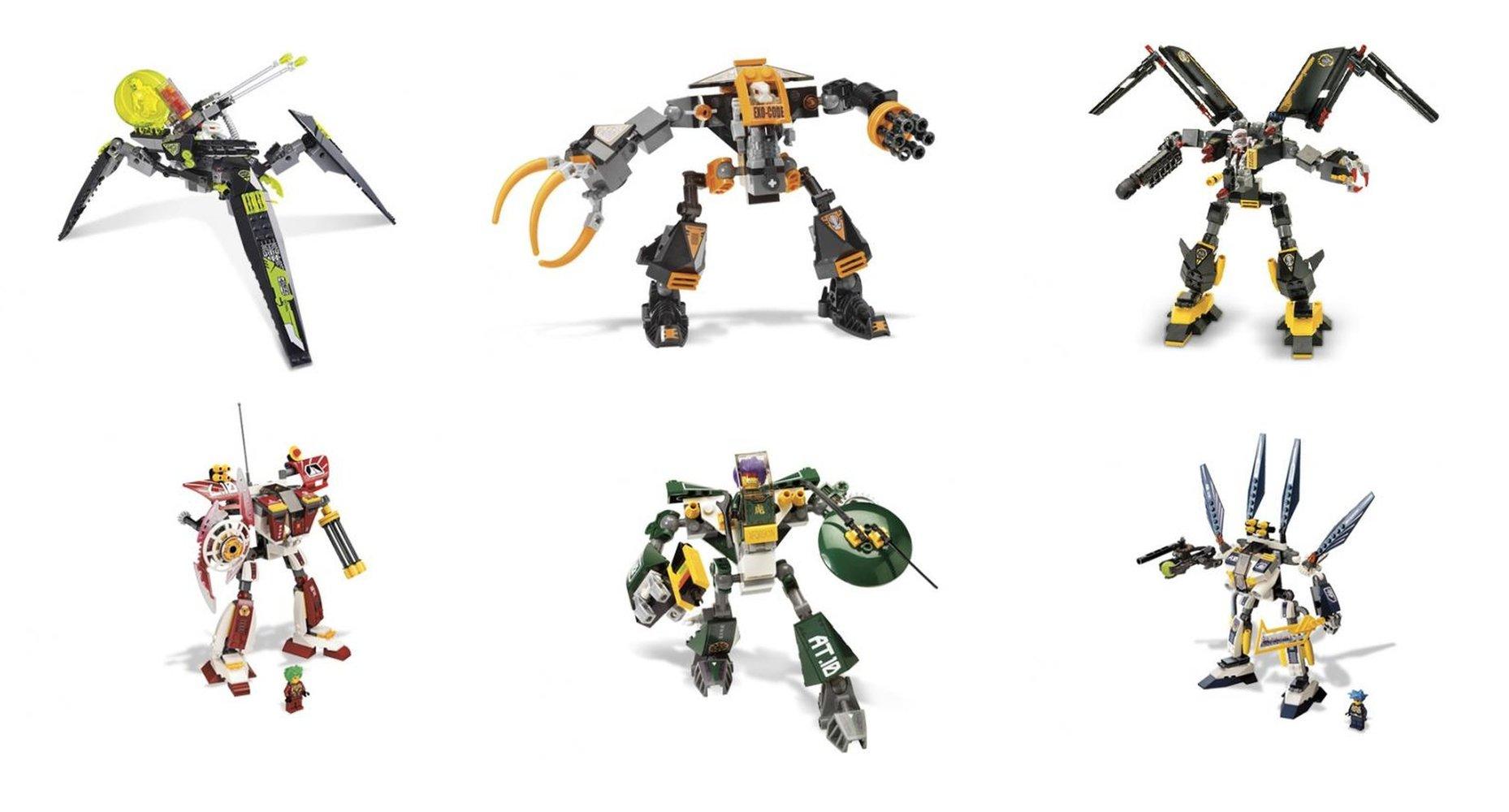 Humans vs. Robots Battle Machine Collection