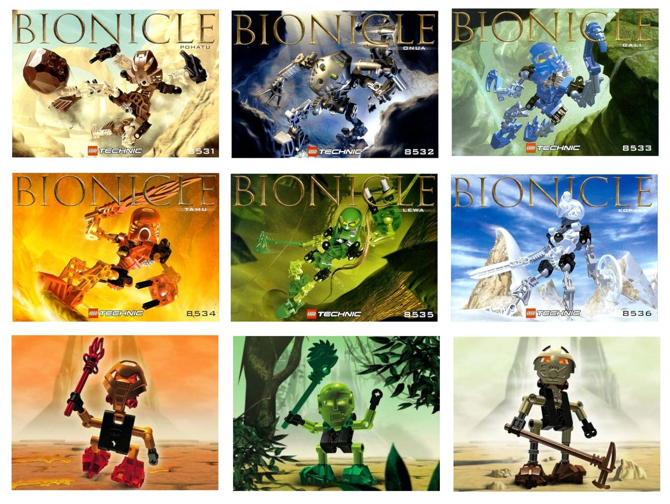 Find the Power BIONICLE Kit