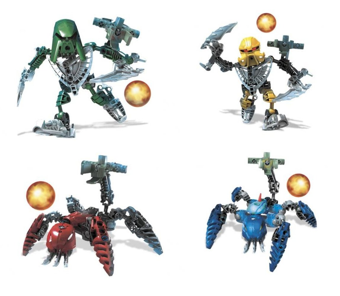 Matoran of Mahri Nui Collection