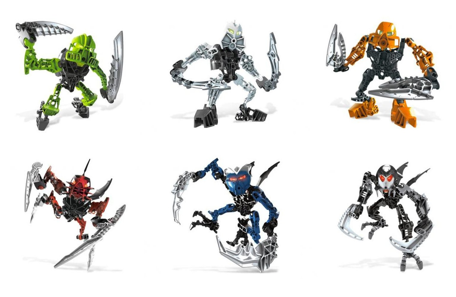 Matoran of Light Collection