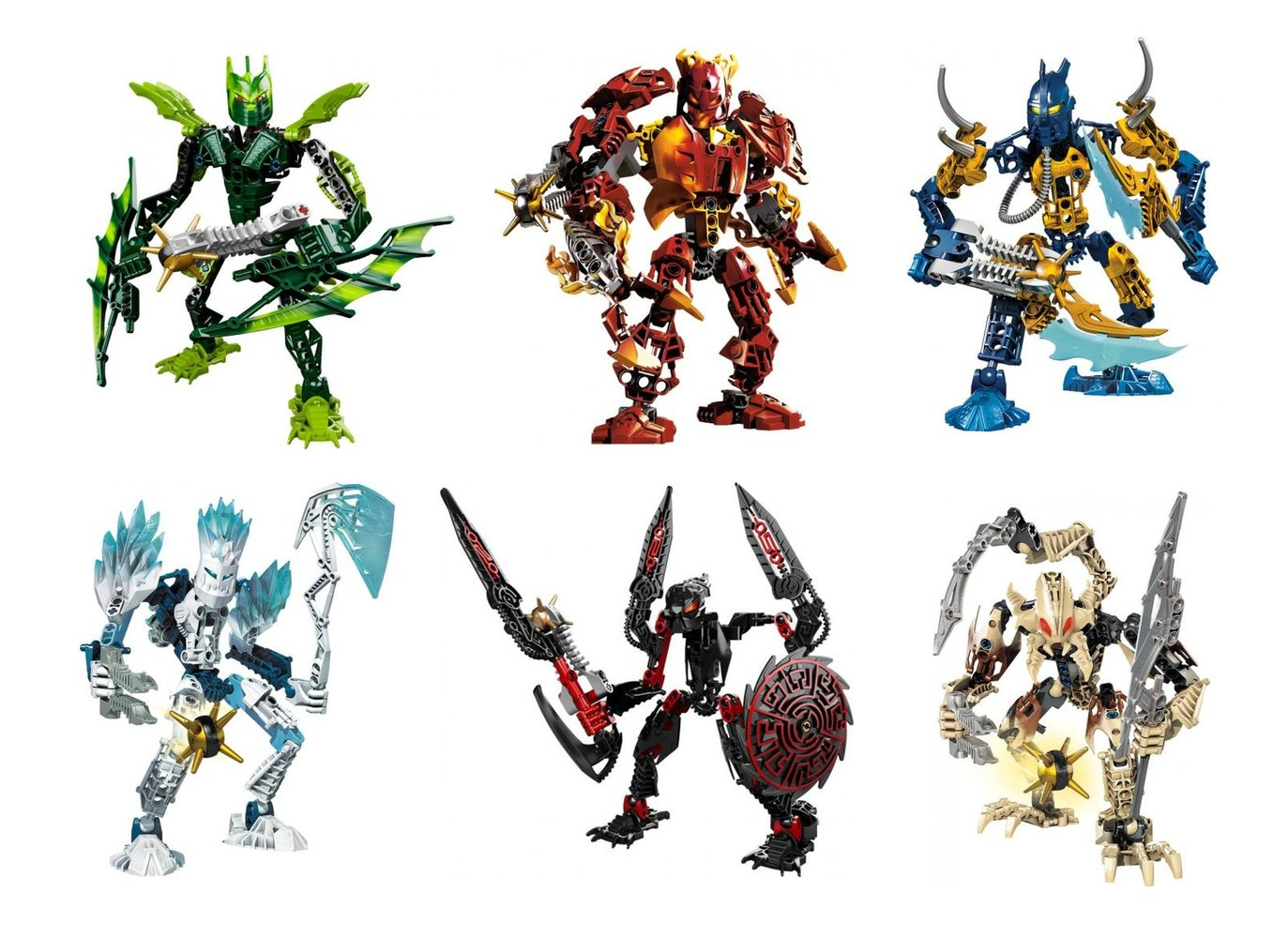 Bionicle Glatorian Collection