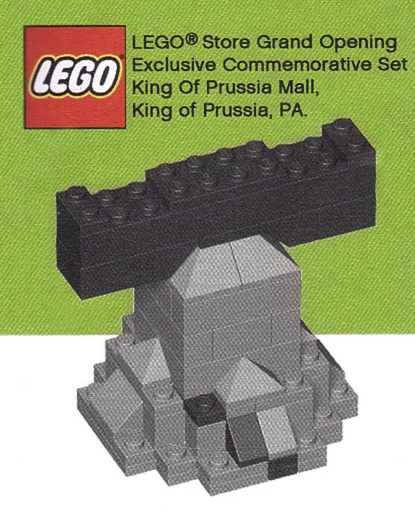 LEGO Store Grand Opening Exclusive Set, King of Prussia Mall, PA