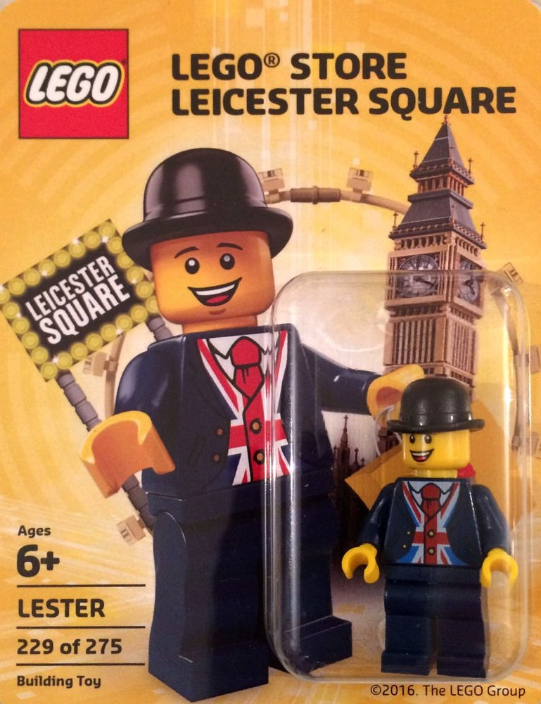 Lester (LEGO Store Leicester Square Grand Opening Version)