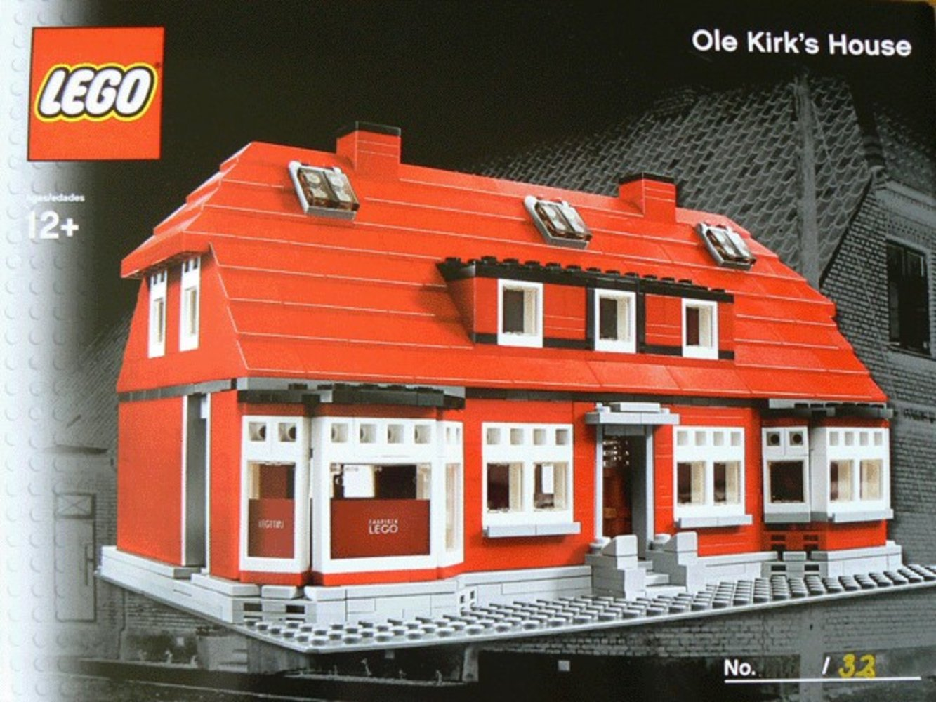 Ole Kirk's House (LEGO Inside Tour Version)