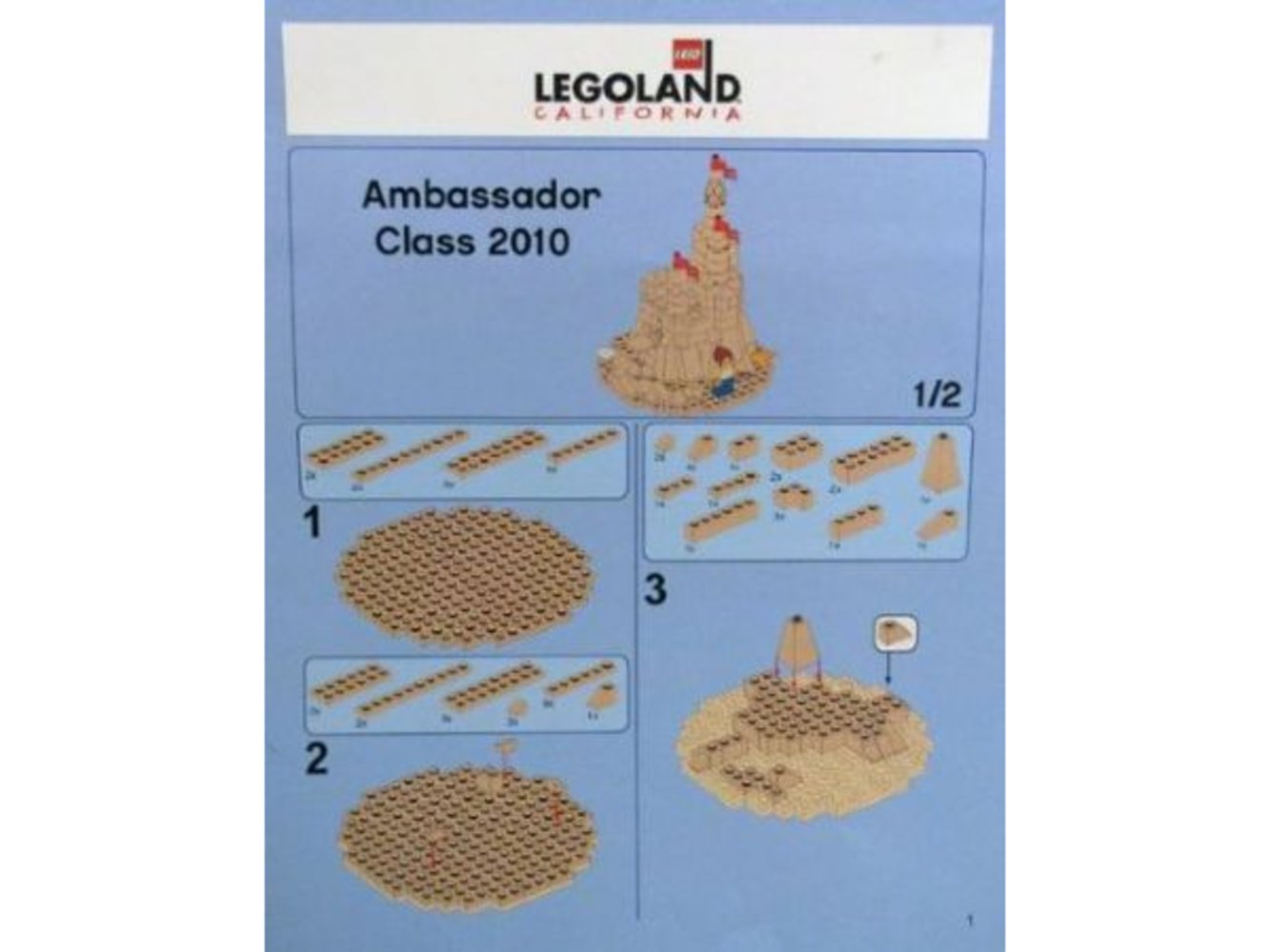 Sand Castle - Ambassador Class 2010 (LLCA Ambassador Pass Exclusive)
