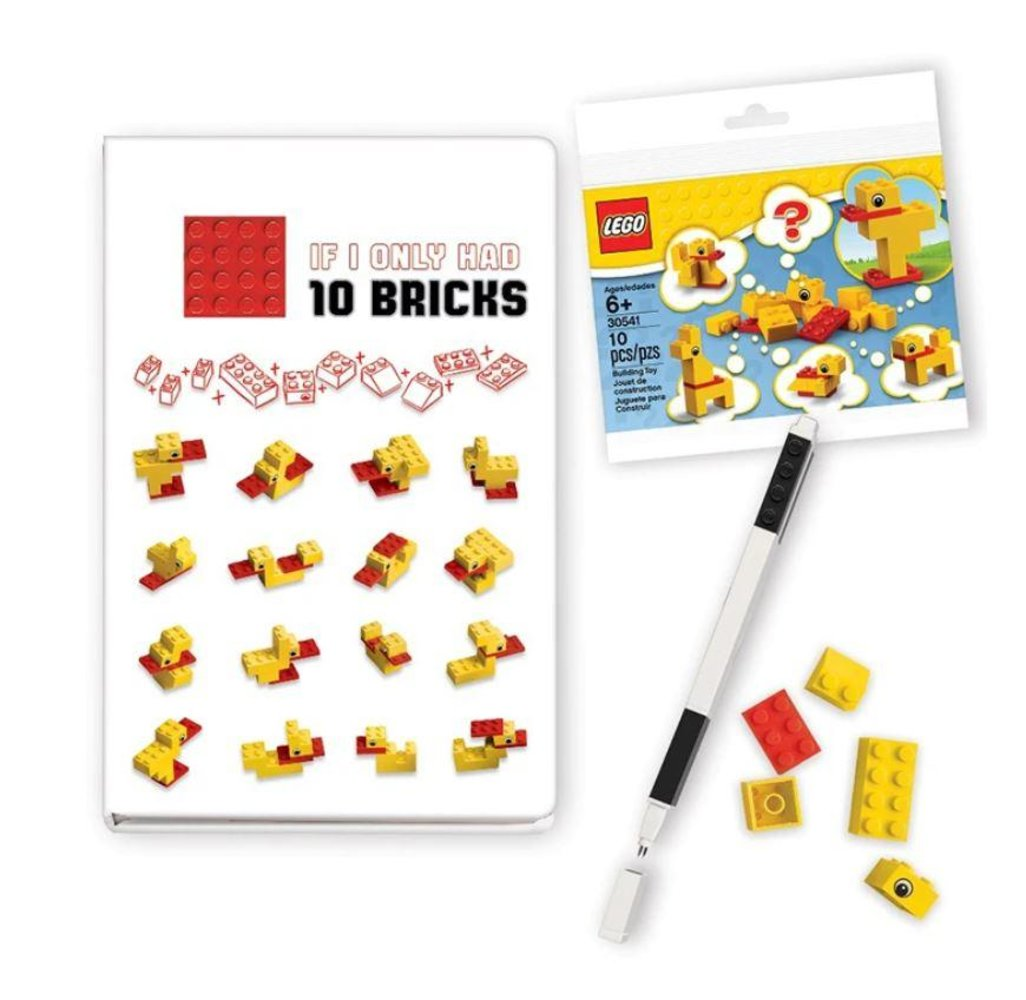 Duck Build Recruitment Bag Stationery Set