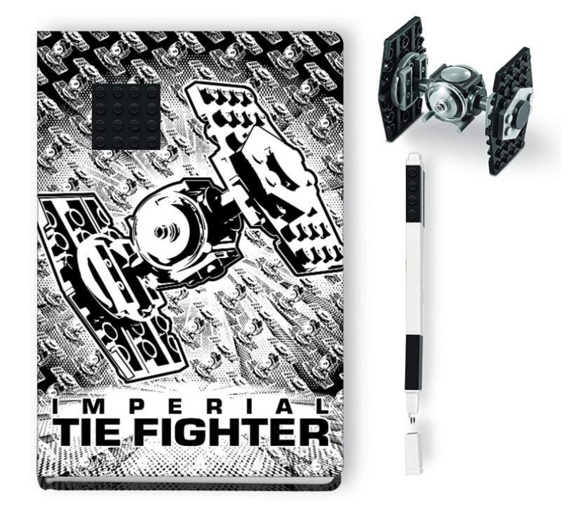 Imperial TIE Fighter Recruitment Bag Stationery Set
