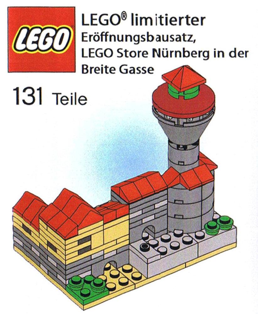 LEGO Store Grand Opening Exclusive Set, Nuremberg (Nürnberg), Germany
