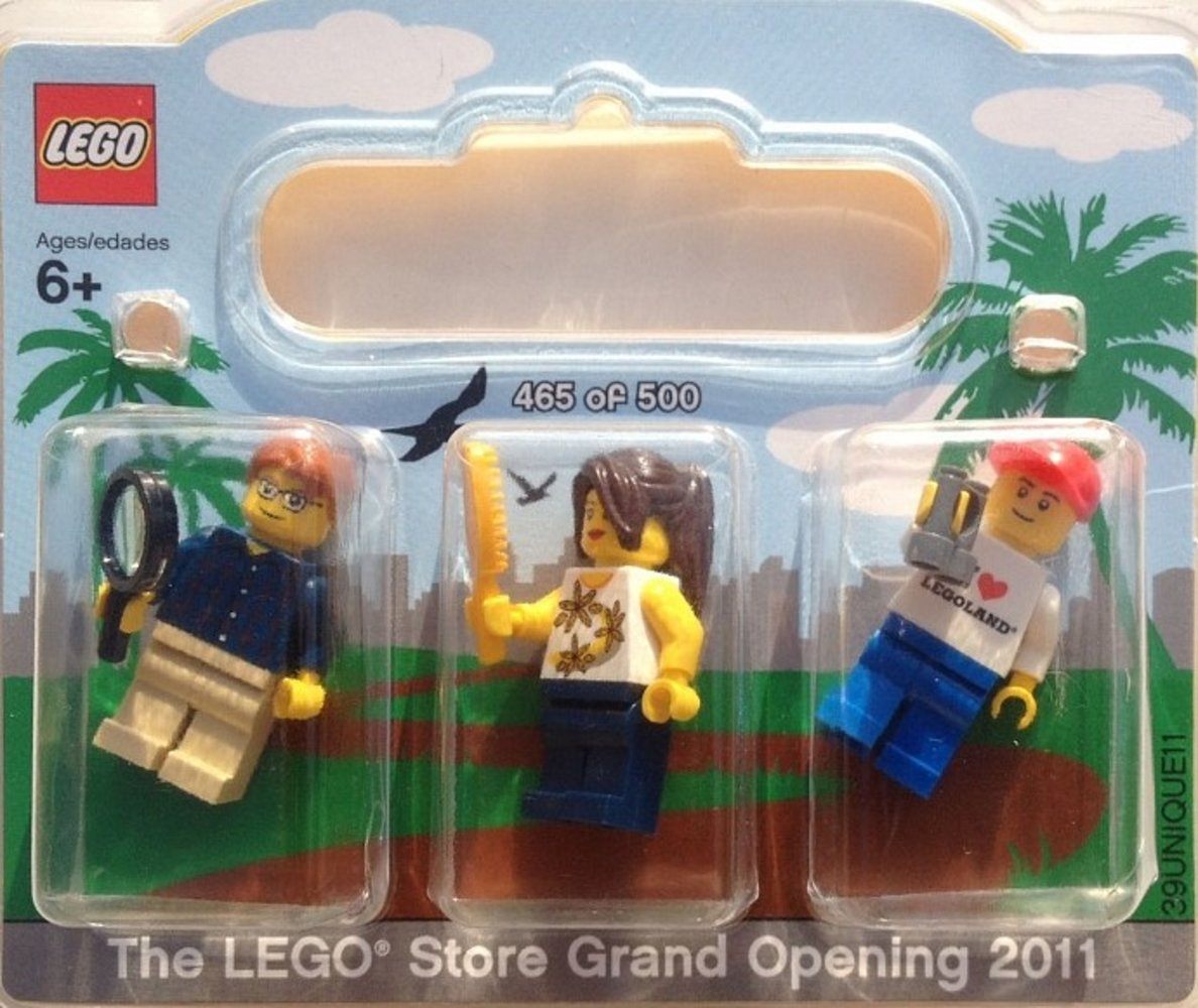 LEGO Store Grand Opening Exclusive Set Fashion Valley San Diego CA