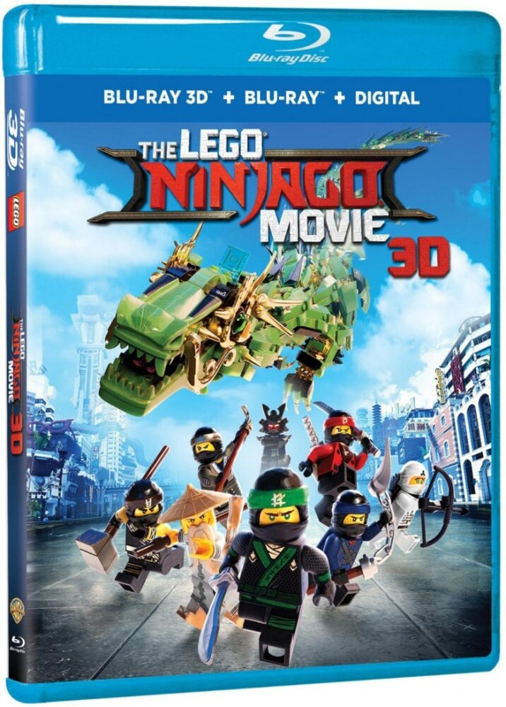 The LEGO Ninjago Movie (Blu-Ray 3D + Blu-Ray + Digital)