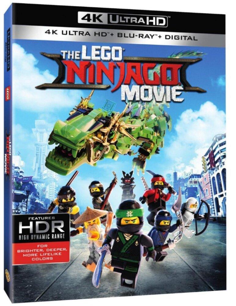 The LEGO Ninjago Movie (4K Ultra HD + Blu-Ray + Digital)