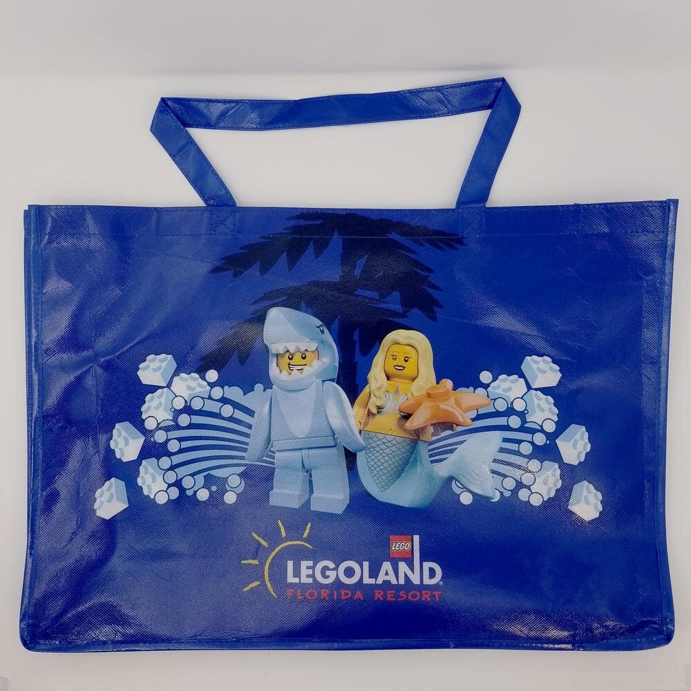 LEGOLAND Shark & Mermaid Beach Tote Bag