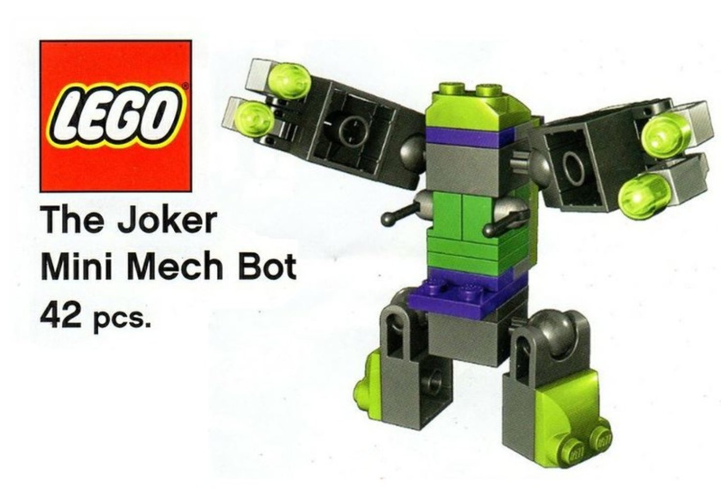 The Joker Mini Mech Bot
