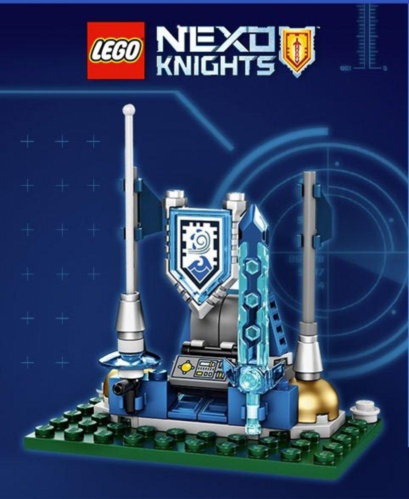 Nexo Knights Shield Dock