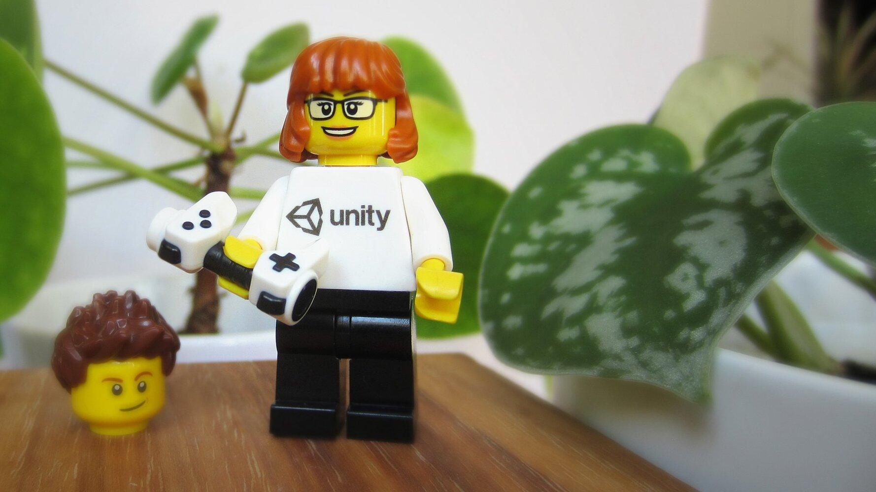 Unity x Lego Minifigure