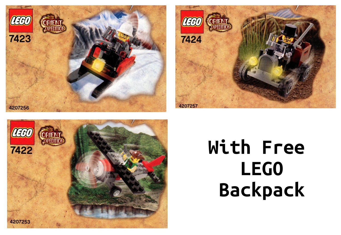 Orient Expedition Value Pack with LEGO Backpack (K-Mart Australia Exclusive)