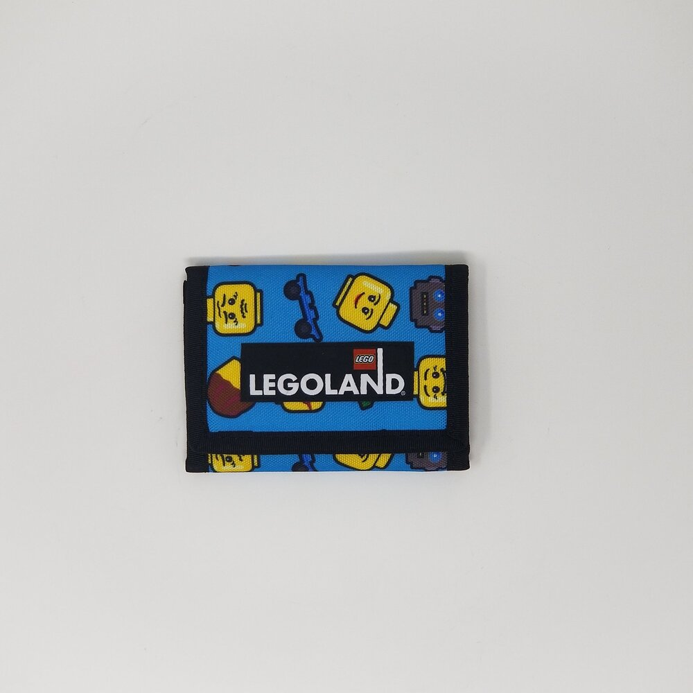 LEGOLAND Minifigure Emoji Collection Wallet (Blue)