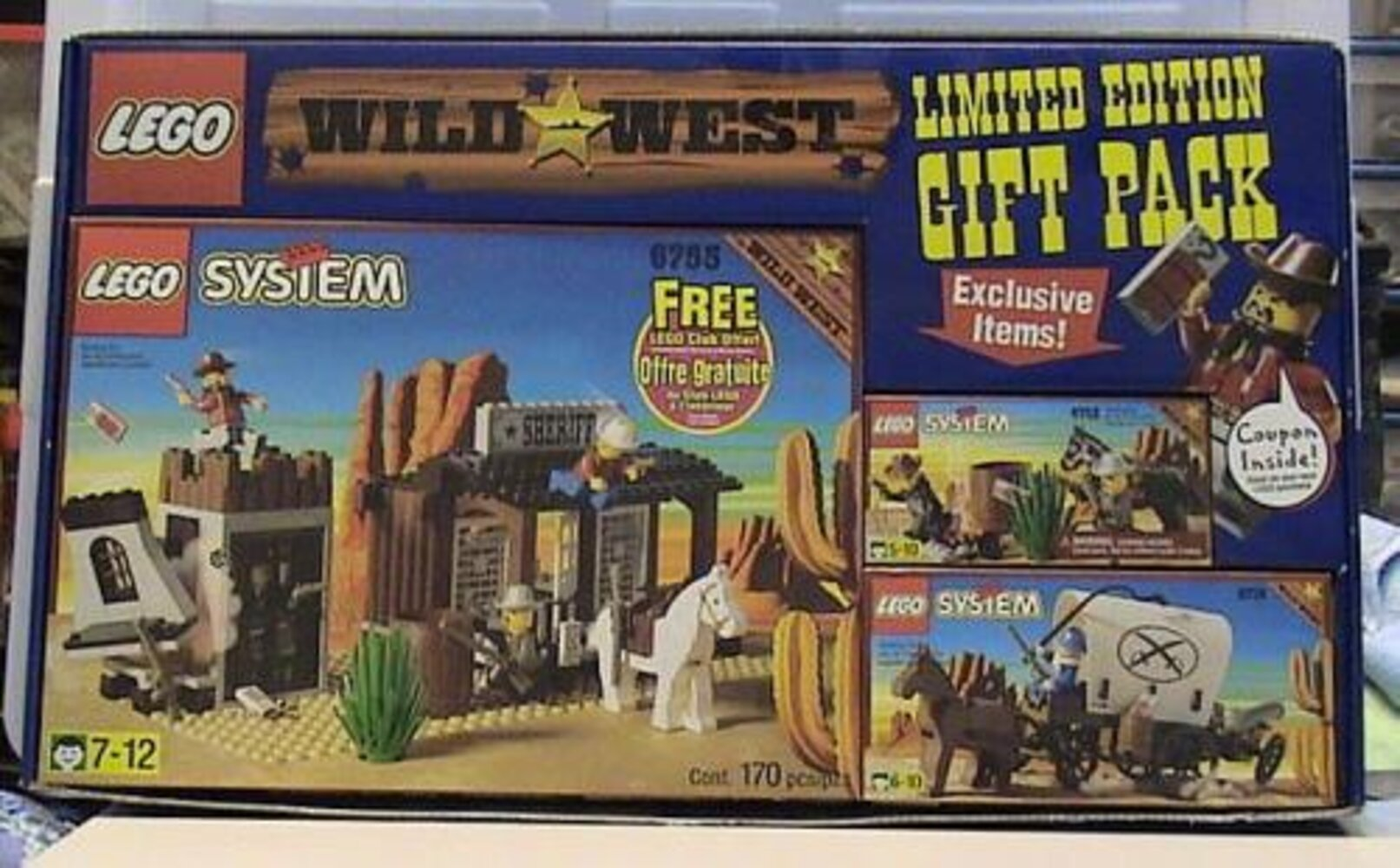 Wild West Limited Edition Gift Pack