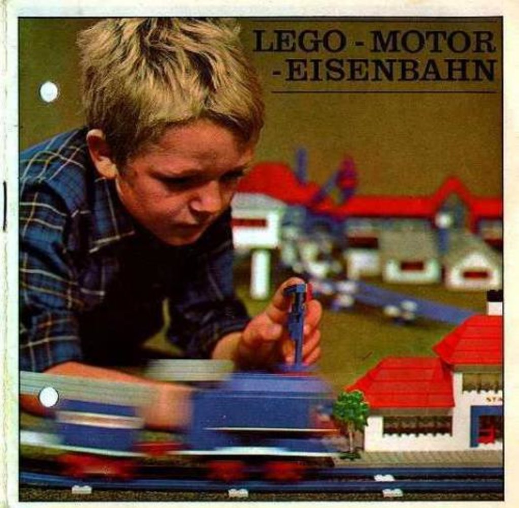 LEGO Motor Eisenbahn