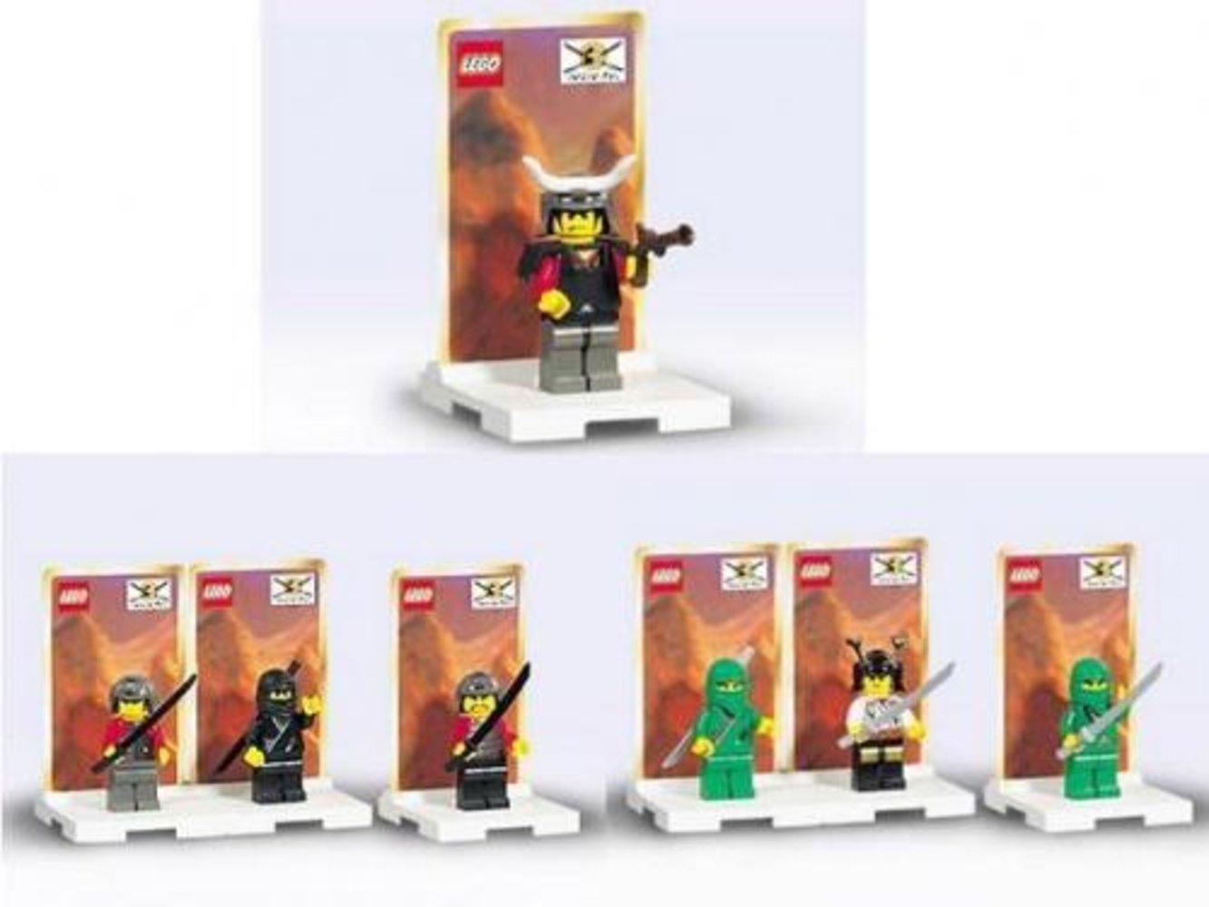Ninja Minifig Packs 3-Pack