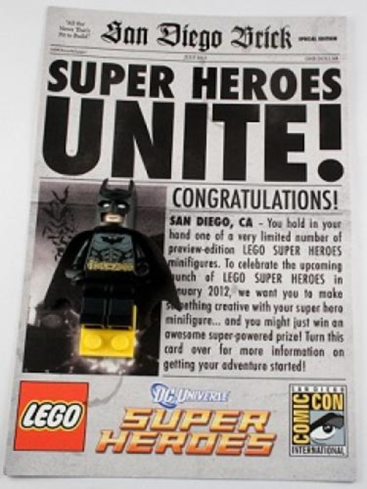 Super Heroes Unite - Batman - San Diego Comic-Con 2011 Exclusive