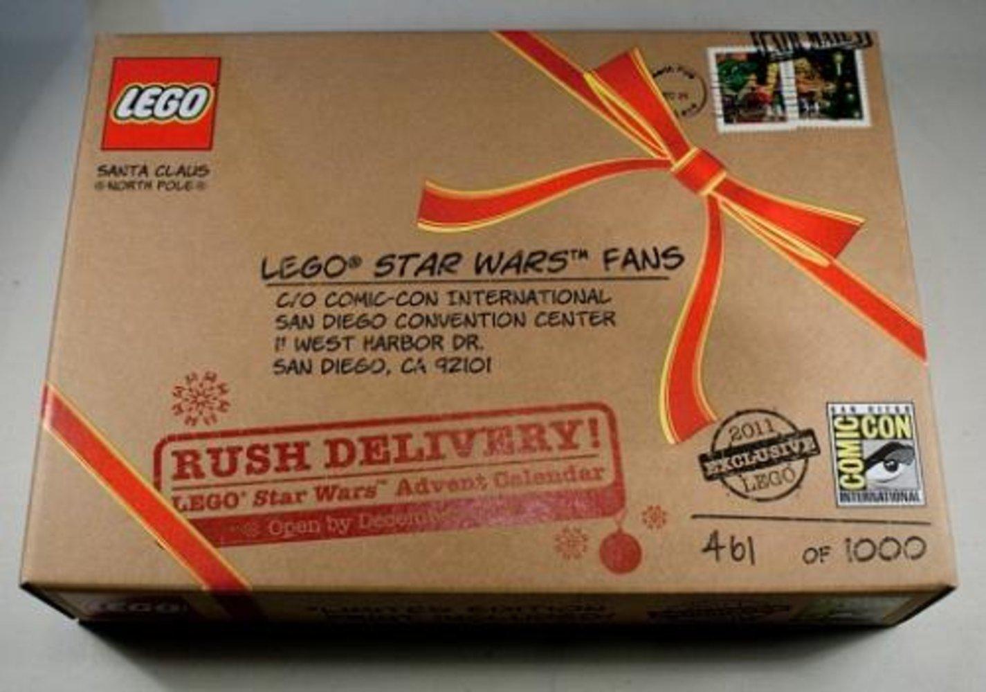Star Wars Advent Calendar - San Diego Comic-Con 2011 Exclusive