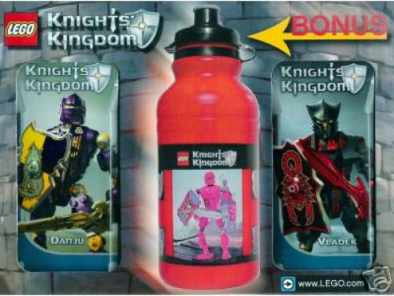 Knights' Kingdom Value Pack 1 (with bonus water bottle)