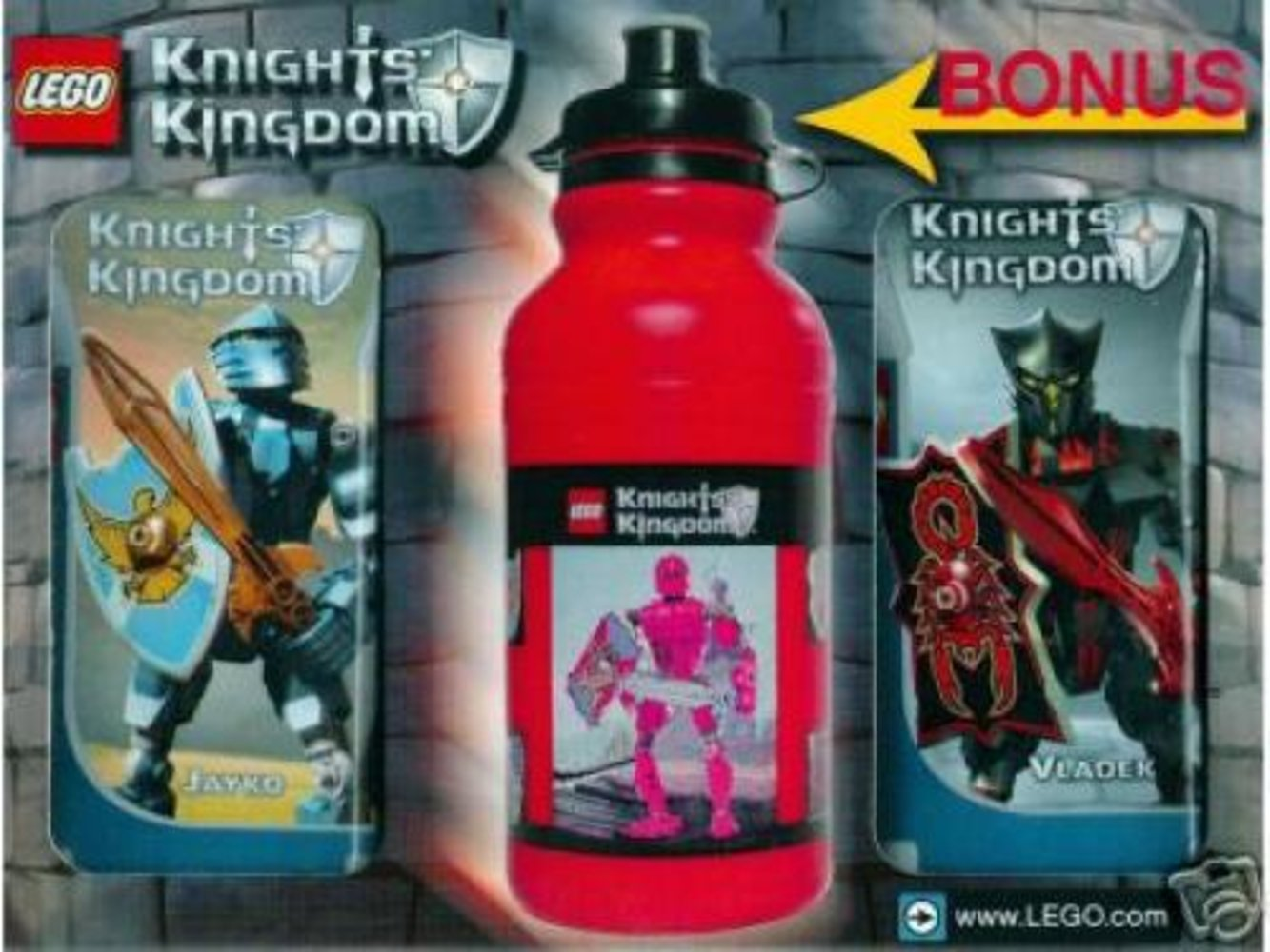 Knights' Kingdom Value Pack 2 (with bonus water bottle)