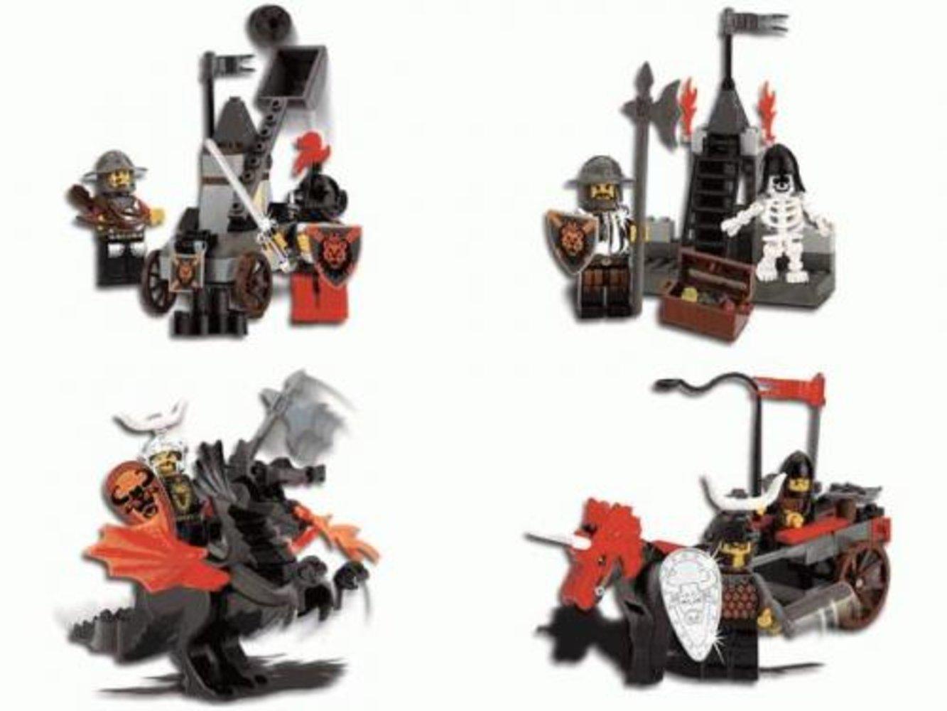 Knight's Kingdom Chrome Series (complete set)