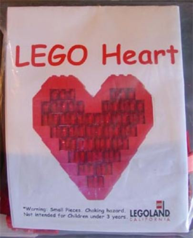LEGO Heart (Legoland California)