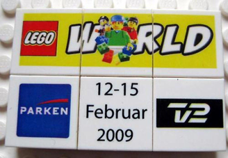 LEGO World Denmark Puzzle Promo