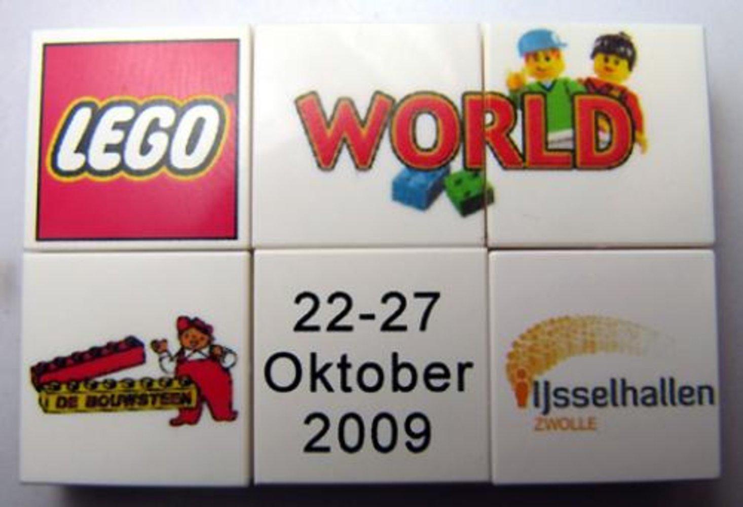 LEGO World Zwolle Puzzle Promo 2009