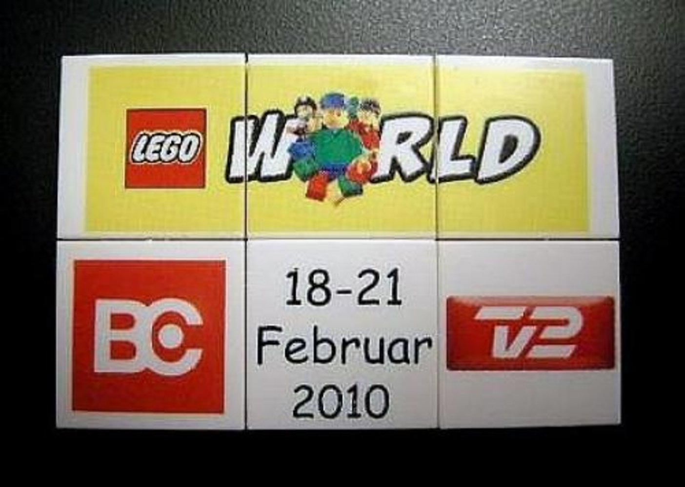 LEGO World Denmark Puzzle Promo 2010