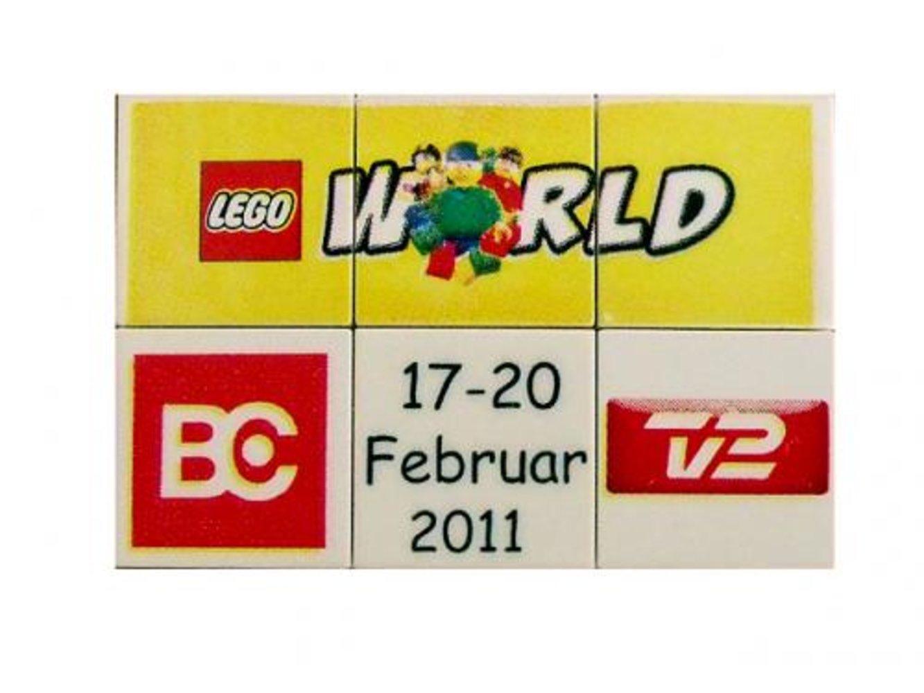 LEGO World Denmark Puzzle Promo 2011