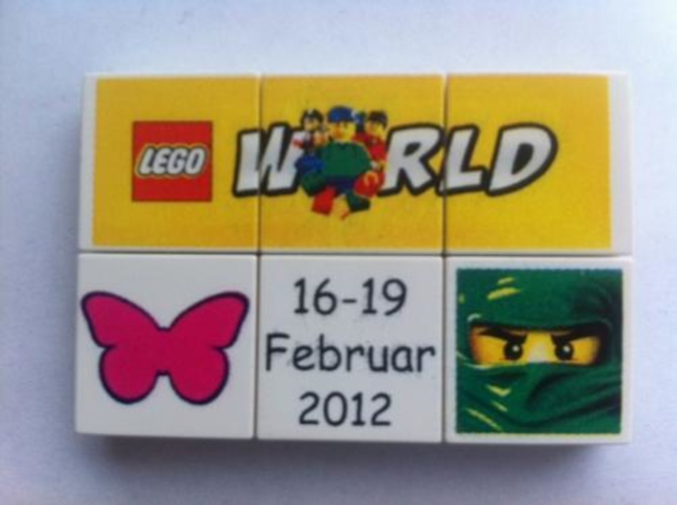 LEGO World Denmark Puzzle Promo 2012