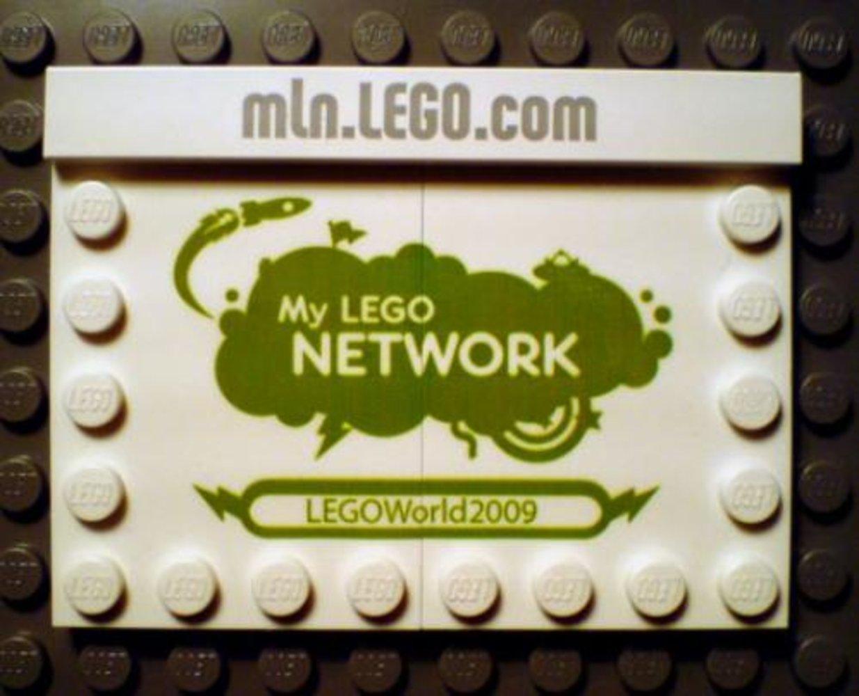 My Lego Network Promo LEGO World 2009