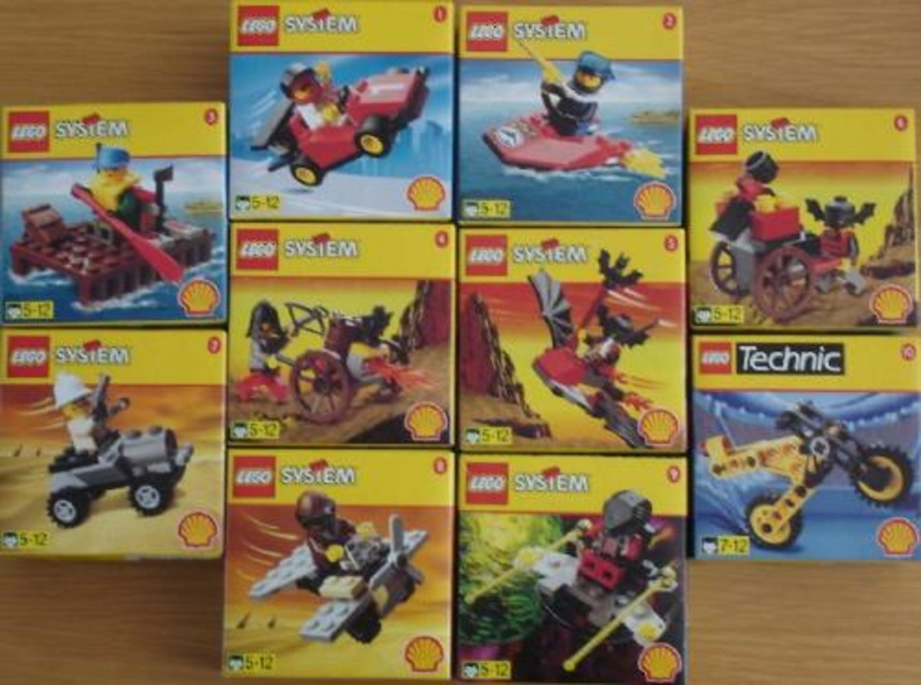 Shell Town 1998 Promotional (complete set)