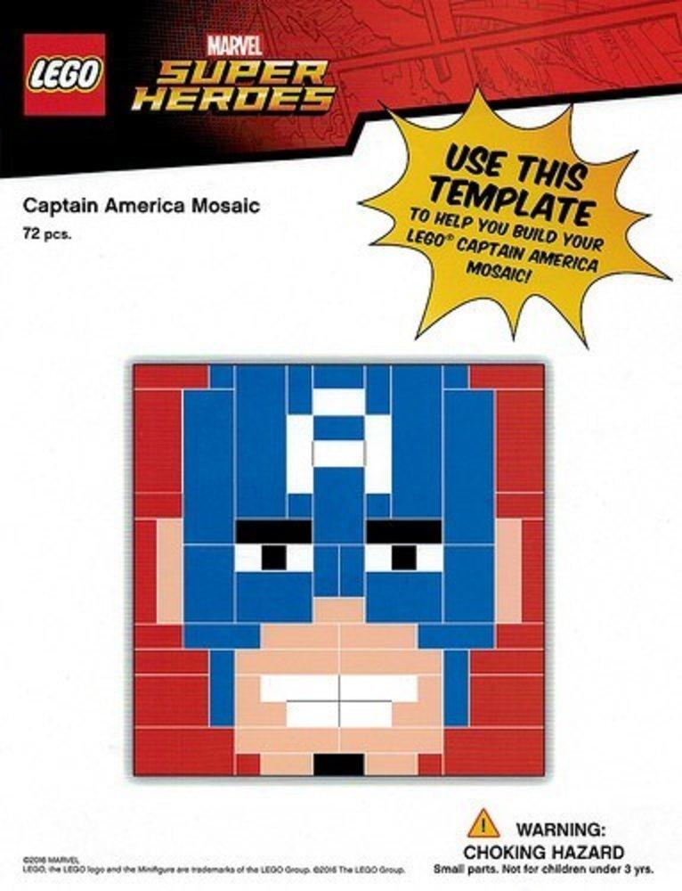 Captain America Mosaic