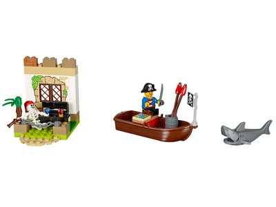 Lego Juniors 10679 Pirate Treasure Hunt