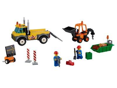 Lego Juniors 10683 Road Work Truck