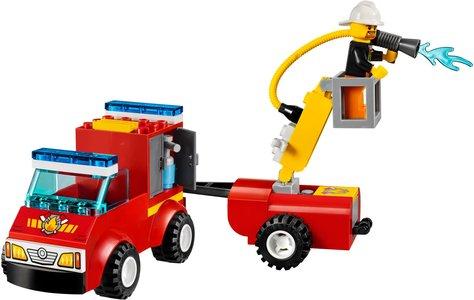 Lego Juniors 10740 Fire Patrol Suitcase