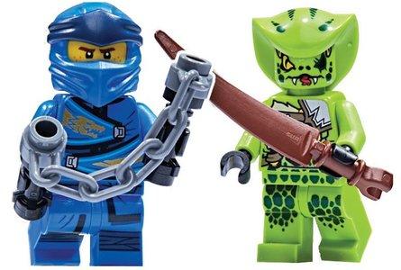 Lego Ninjago 111904 Jay vs. Lasha