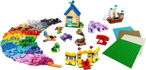 Lego Classic 11717 Bricks Bricks Plates