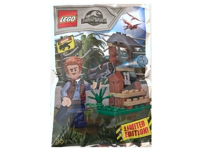 Lego Jurassic World 121802 Owen and Lookout Tower