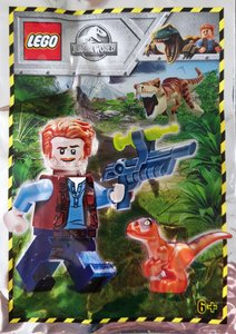 Lego Jurassic World 121904 Owen with Baby Raptor