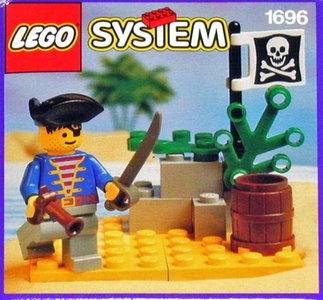 Lego Pirates 1696 Pirate Lookout