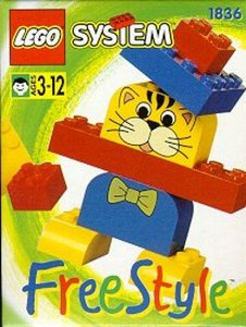 Lego Freestyle 1836 Freestyle Cat