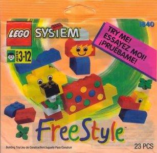 Lego Freestyle 1840 Freestyle Set