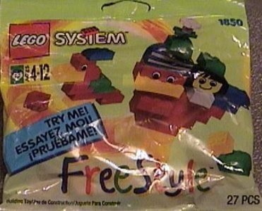 Lego Freestyle 1850 Freestyle Set